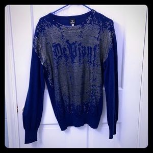 "Vintage (early 2000s)  Versace ""Defiant"" Sweater"